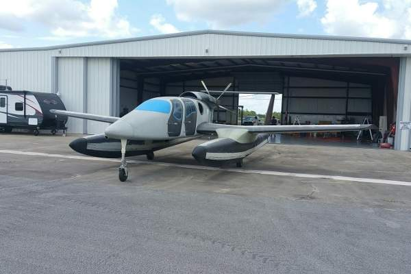 Privateer amphibious aircraft is being developed by Privateer Industries. Image: courtesy of Privateer Industries.