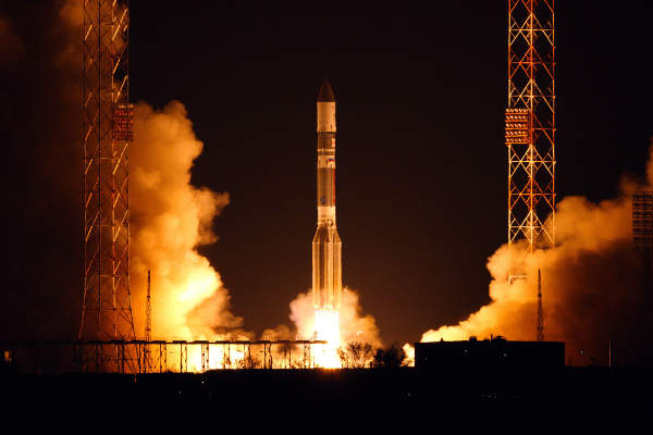 Telesat launched the Anik G1 telecommunications satellite on 16 April 2013.