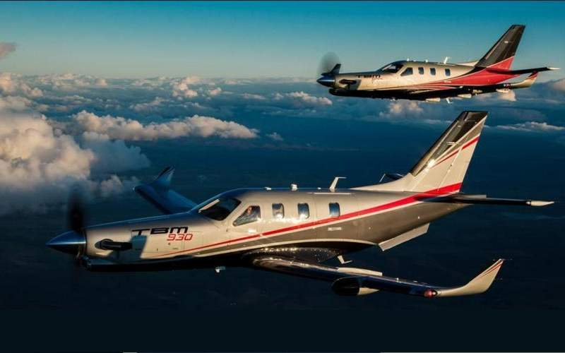 The TBM 930 business jet was unveiled in April 2016. Image courtesy of Daher.