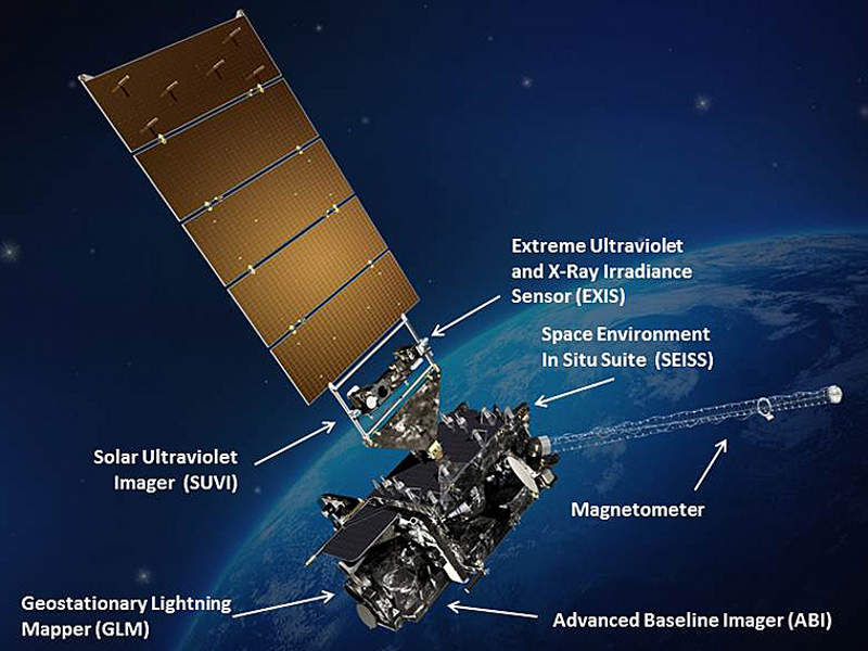 GOES-16 is the first of four next-generation geostationary weather satellites.