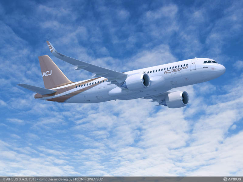 ACJ 320neo Jet will enter service in 2018. Image: courtesy of Airbus SAS.
