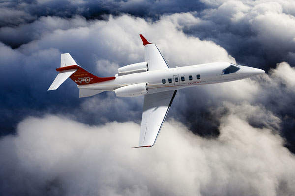 The Learjet 70 aircraft was launched by Bombardier in May 2012. Image courtesy of Bombardier.