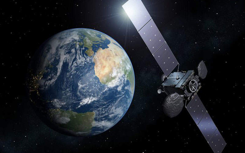 Hispasat 36W-1 satellite was launched in January 2017. Image: courtesy of ESA.