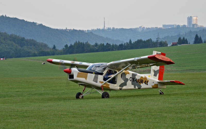 M-4 Irbis is a two-seat light sport aircraft. Image: courtesy of Kubíček Aircraft.