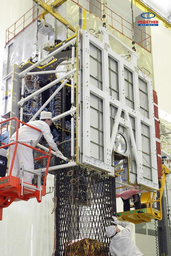 Telkom-3 was developed by ISS Reshetnev. Image courtesy of JSC Information Satellite Systems - Reshetnev Company.