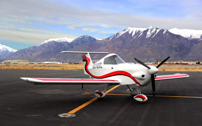 SD-1 Minisport aircraft is a single-seat aircraft. Image: courtesy of SkyCraft Airplanes.