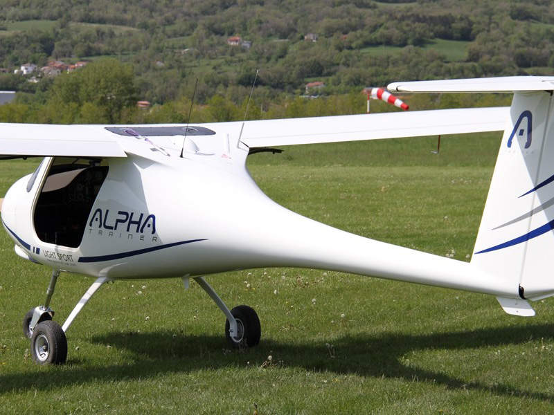 Alpha trainer aircraft is intended for flying schools. Image: courtesy of Pipistrel.
