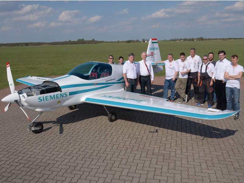 The eFusion aircraft was introduced in April 2016. Image: courtesy of Magnus Aircraft.