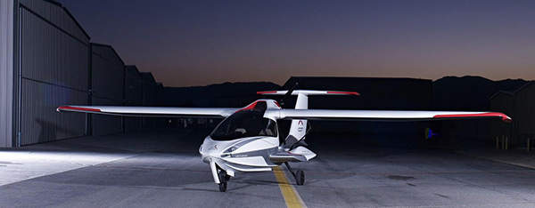 The A5 amphibious sport plane is designed and manufactured by Icon Aircraft.