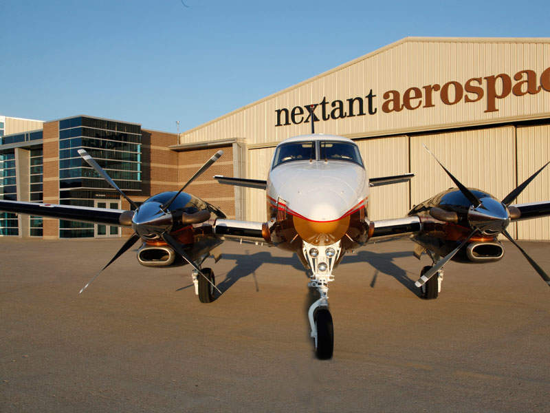 Nextant G90XT® is a remanufactured version of Beechcraft King Air C90A airframe. Image: courtesy of Nextant Aerospace, a Directional Capital Company.