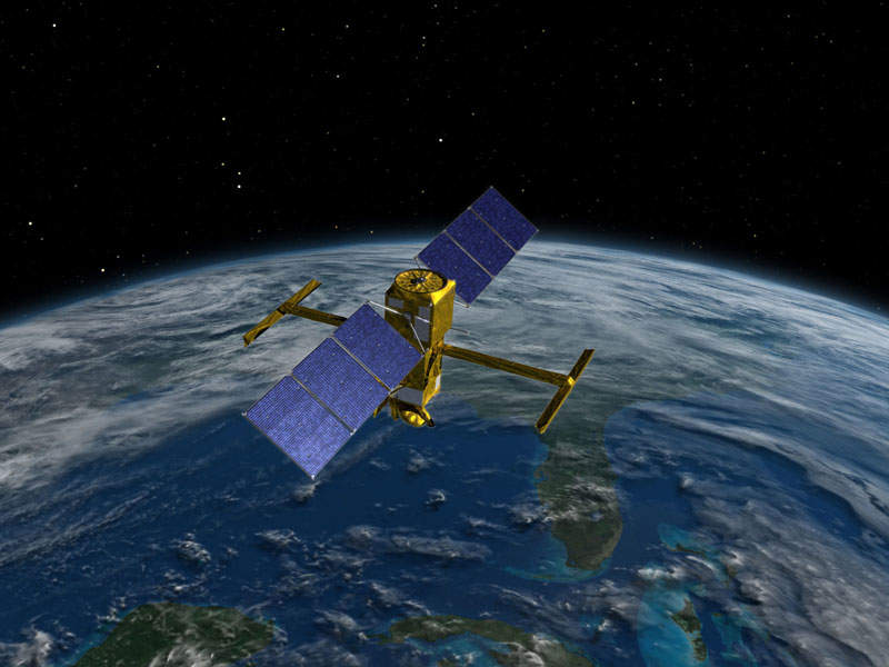 The Surface Water and Ocean Topography (SWOT) spacecraft will provide global survey of Earth's surface water. Image: courtesy of NASA/JPL-Caltech.