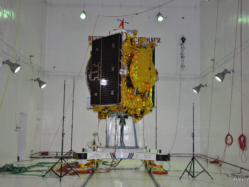 GSAT-9 satellite will provide communication applications with coverage over South Asian countries including India, Bangladesh, Bhutan, Maldives, Nepal, Sri Lanka and Afghanistan. Image courtesy of ISRO.