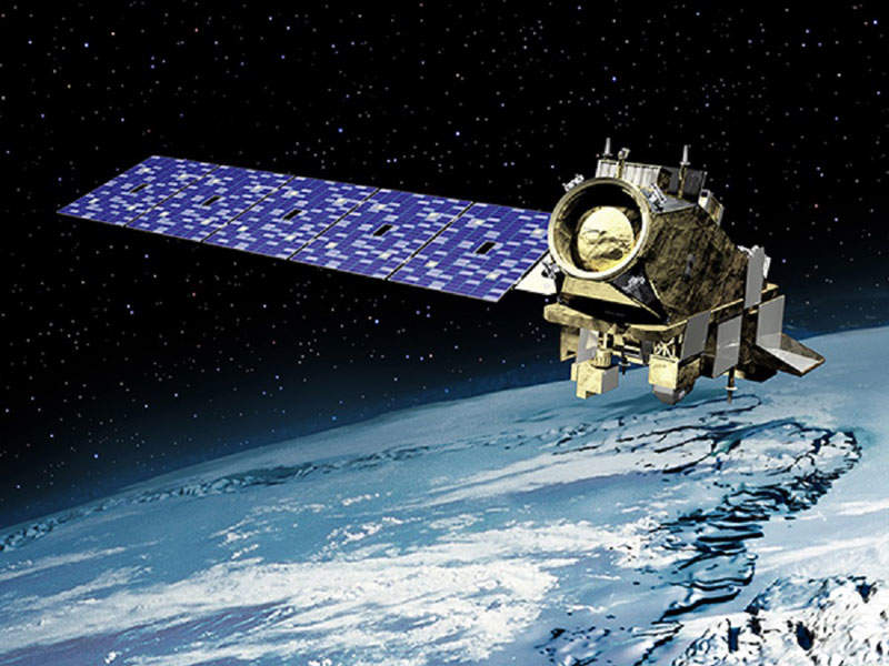 Artist's rendering of the JPSS-2 satellite. Image: courtesy of Orbital ATK.