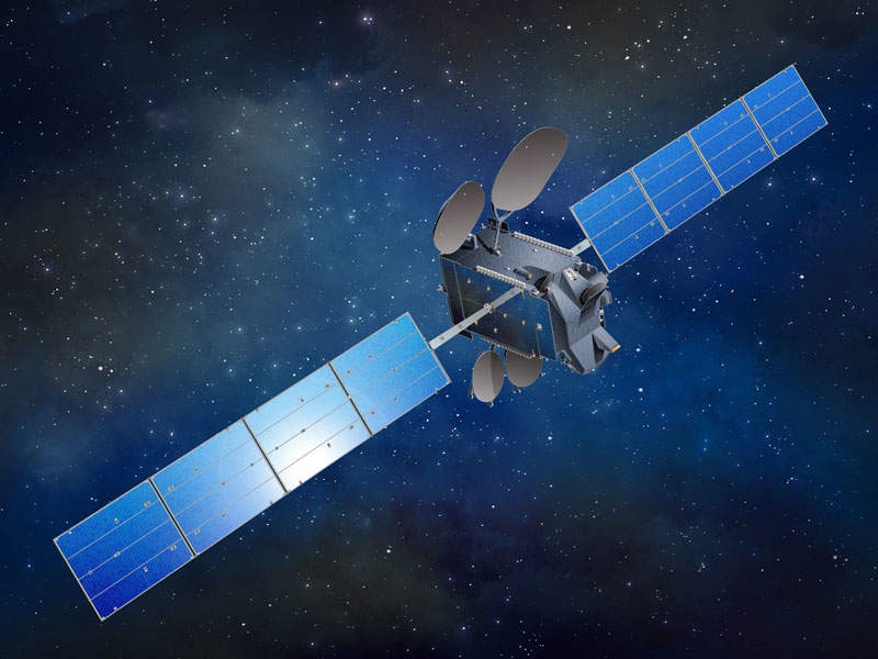 Amazonas 5 satellite was launched into geostationary equatorial orbit (GEO) in September 2017. Image: courtesy of SSL.