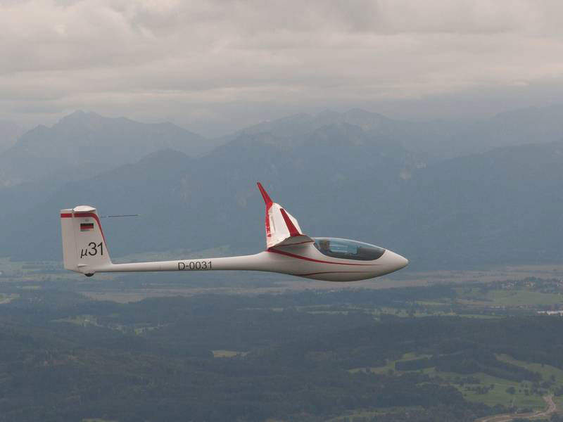 Mu 31 is a single-seat glider aircraft under development. Image: courtesy of Akaflieg.
