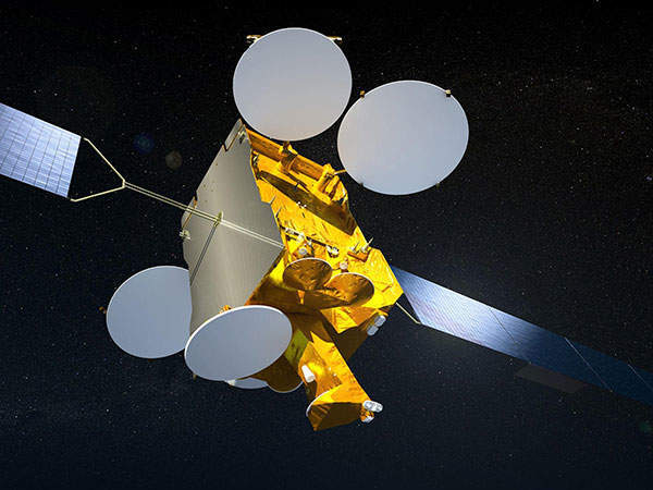 Artist's impression of Astra 2 F Satellite. ©Astrium / 2009.
