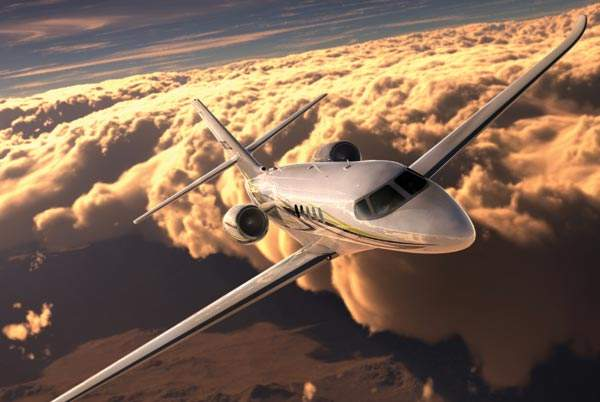 Citation Latitude is a new light business jet designed by Cessna. Image courtesy of Cessna Aircraft Company.