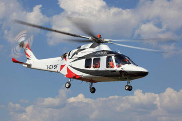 AgustaWestland AW169 is a 4t-class twin-engine multirole helicopter.