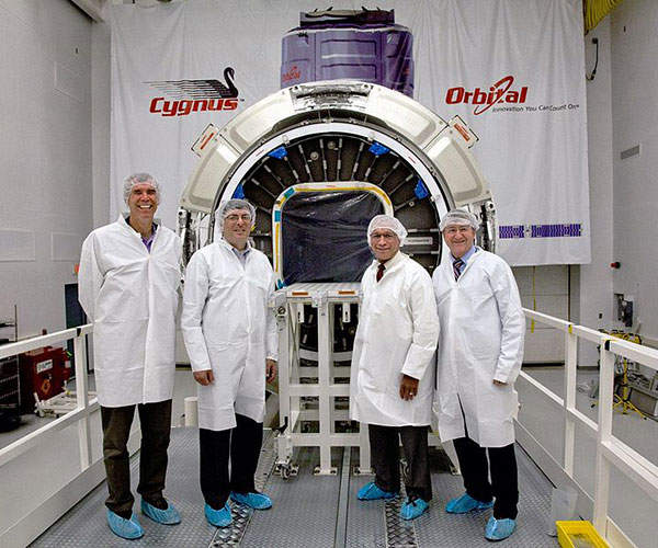 Cygnus is an unmanned cargo supply spacecraft designed and developed by Orbital.