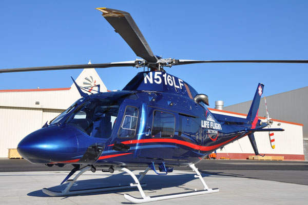 AW119Kx helicopter was officially launched in October 2012.