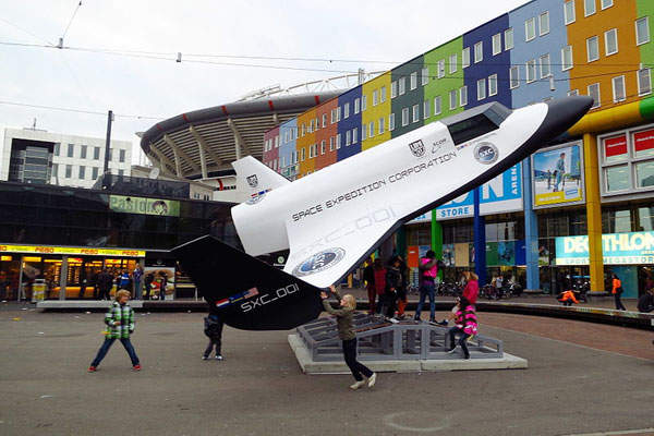 The Lynx is a two-seat, commercial reusable launch vehicle. Image: courtesy of 24oranges.nl.