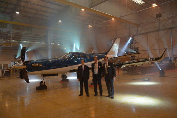 The TBM 900 was unveiled at Tarbes in France in March.