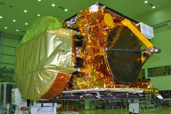 GSAT-16 is an advanced communication satellite developed by the Indian Space Research Organisation (ISRO). Credit: ISRO.