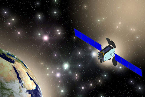 The Es'hail-2 satellite is scheduled to be launched in 2018. Image courtesy of Mitsubishi Electric Corporation