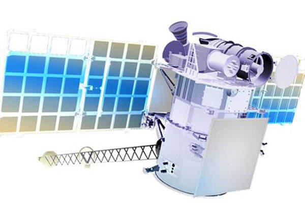 An artist's rendering of the DSCOVR satellite.