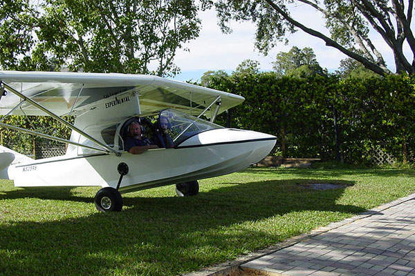 Searey Elite light sport aircraft was unveiled in Tavares, Florida, in January 2014. Image:  courtesy of Victorjmcdonald.