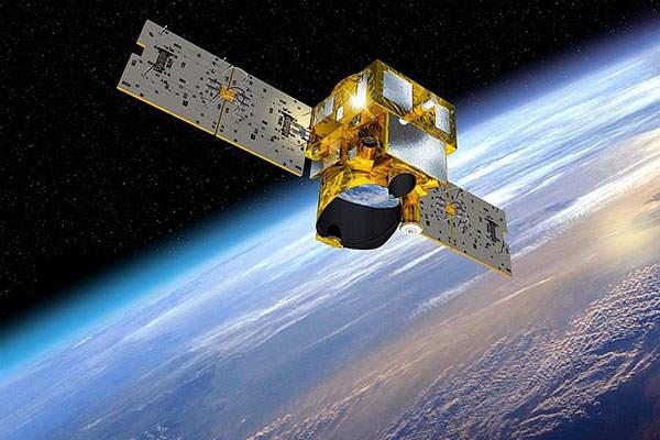 Artist's rendering of MEthane Remote sensing LIdar mission (MERLIN) satellite. Image: courtesy of CNES.