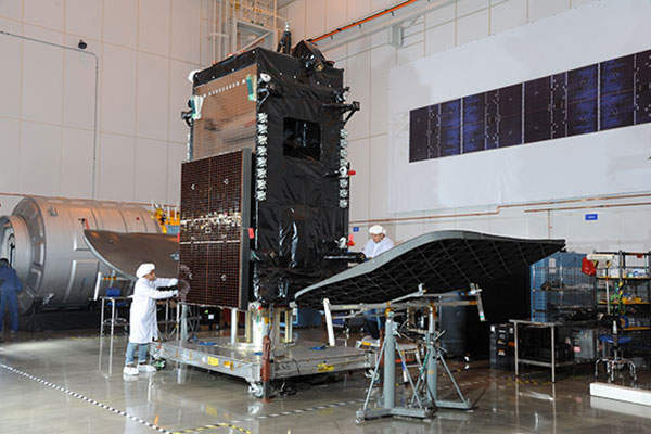 The Sky Mexico-1 satellite offers direct-to-home (DTH) services for the Mexico, Central America and the Caribbean regions. Image: courtesy of Orbital ATK.