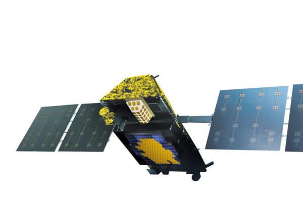 Iridium NEXT is a 66-satellite low-earth orbit (LEO) constellation. Image: courtesy of Iridium Communications Inc.
