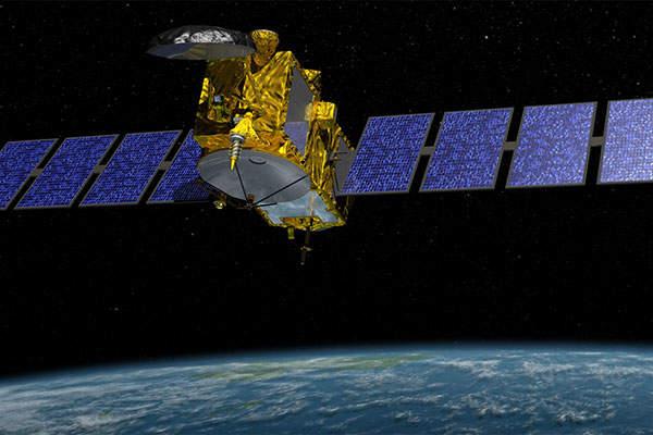 Artist's rendering of the Jason-3 satellite. Image: courtesy of NASA / JPL-Caltech.