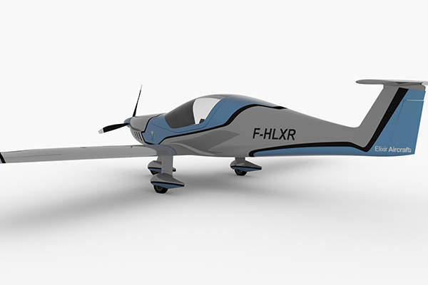 Elixir Aircraft launched a new two-seat aeroplane in June 2015. Image: courtesy of Elixir Aircraft.