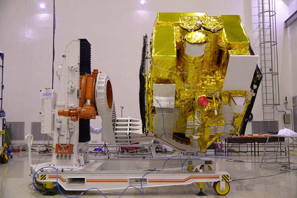 Astrosat is a multi-wavelength space observatory developed by Indian Space Research Organisation (ISRO). Image: courtesy of ISRO.