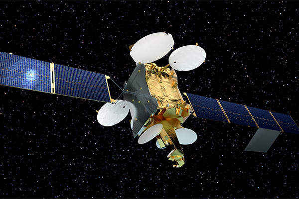 Telstar 12 VANTAGE satellite was launched in November 2015. Image courtesy of Airbus Defence and Space SAS.