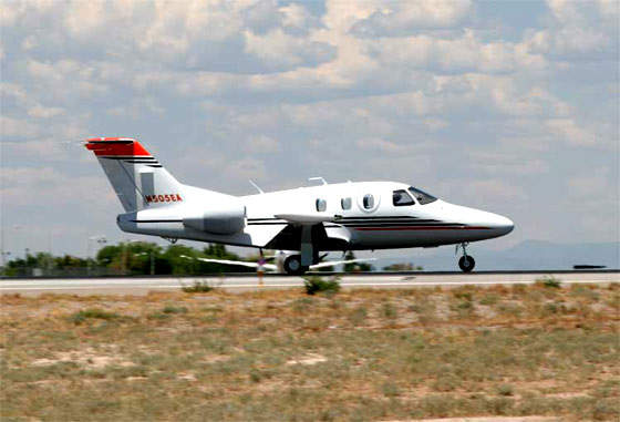 The Eclipse 500 very light jet received provisional US FAA certification in July 2006.