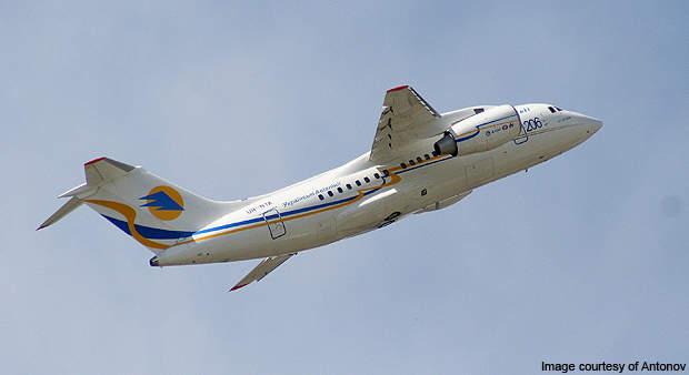 AN-148 made its first flight on 17 December 2004.