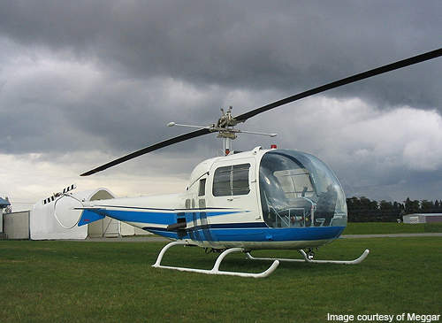 The Bell 47J Ranger variant entered production in 1956.