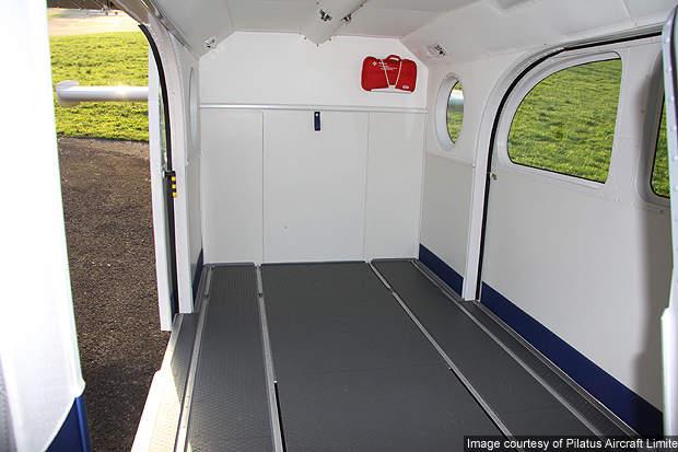 PC-6 HB-FNI cabin.