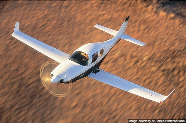 Lancair IV has been designed to operate at high altitudes.
