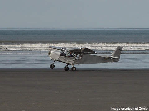 CH 801 landing at the Alaska Beach.