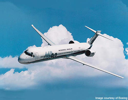 The MD-90 is designed to fly up to 2,400 miles non stop.