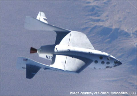 In October 2004, SpaceShipOne became the first privately-funded manned spacecraft to exceed an altitude of 328,000ft twice in 14 days, thereby winning the $10m Ansari X-Prize.