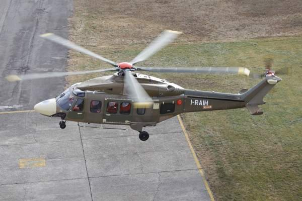 The first prototype of the AW189 completed its maiden flight in December 2011. Image courtesy of AgustaWestland.
