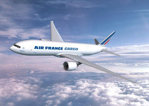 The official launch of the Boeing 777 Freighter was held on 24 May 2005. Air France has ordered five 777 Freighters with options for three additional aircraft.