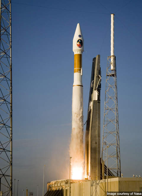 GeoEye-2 will be launched atop Atlas V rocket launcher.