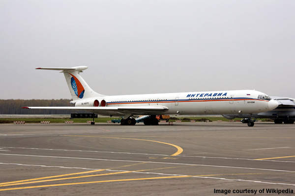 Production of the IL-62 ended in 1990.