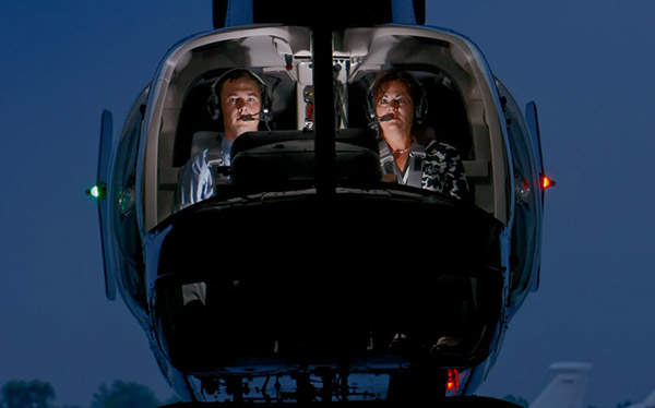 Bell 407GX has space for two crew members. Courtesy of Bell Helicopter Textron.